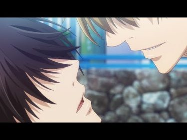 TVアニメ『抱かれたい男1位に脅されています。』Web予告:hug8「ず、ずらすな、海パンずらすな。」