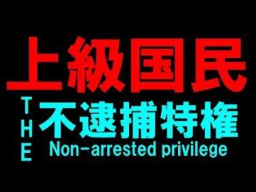 ナンデン関電 上級国民 不逮捕特権